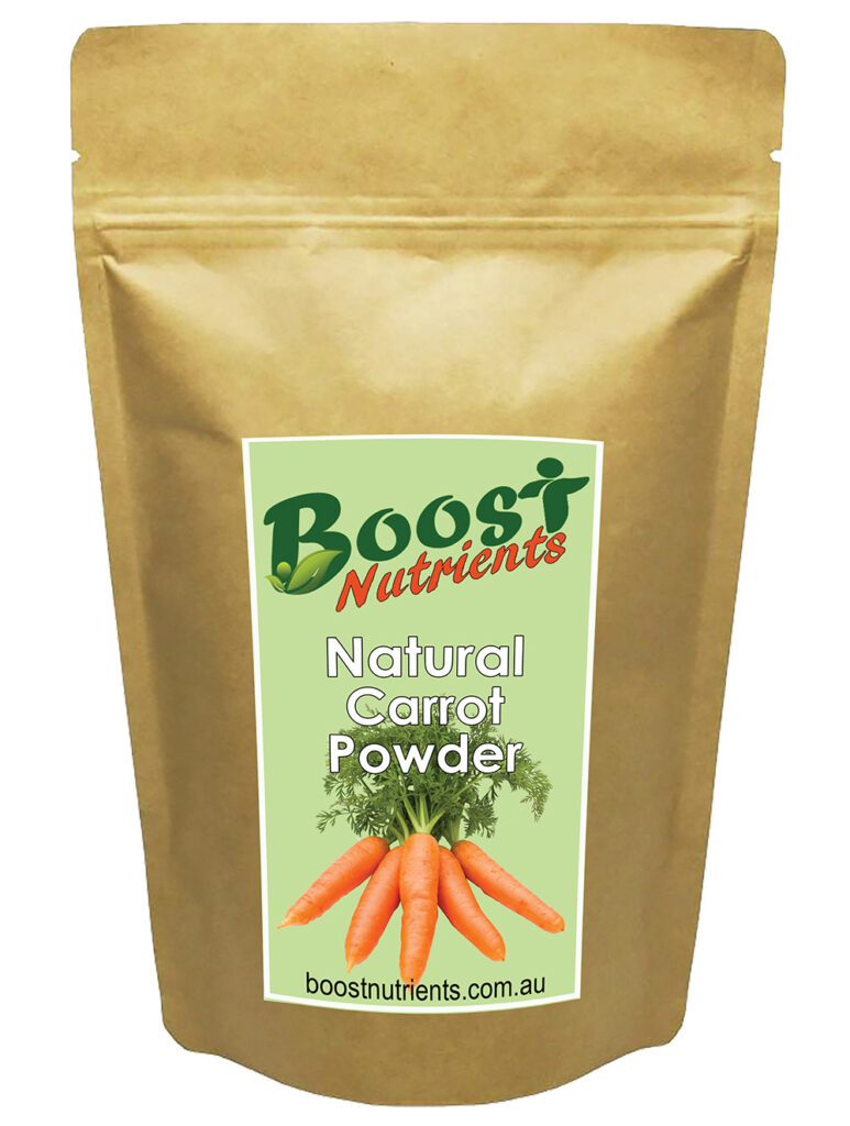 Boost Nutrients - Smoothie Powders Carrot Powder