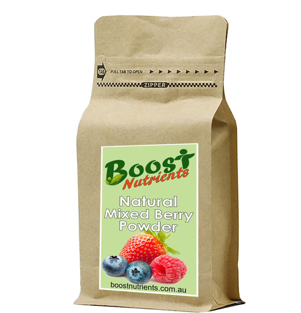 Boost Nutrients - Smoothie Powders Mixed Berry