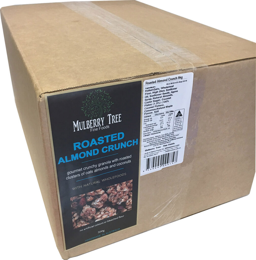 Roasted Almond Crunch - 9kg Catering Pack