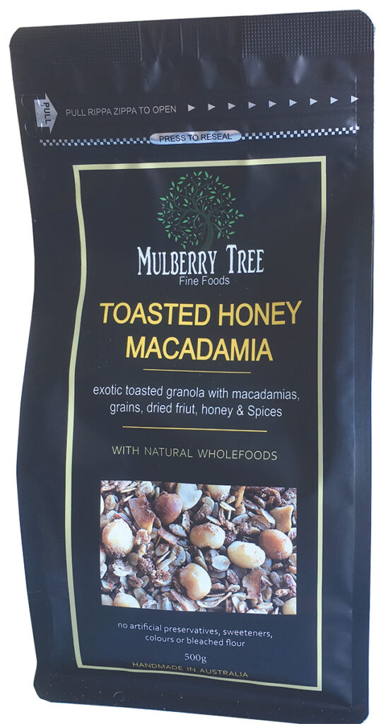 Toasted Honey Macadamia Granola 500g