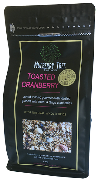 Toasted Cranberry Granola 500g